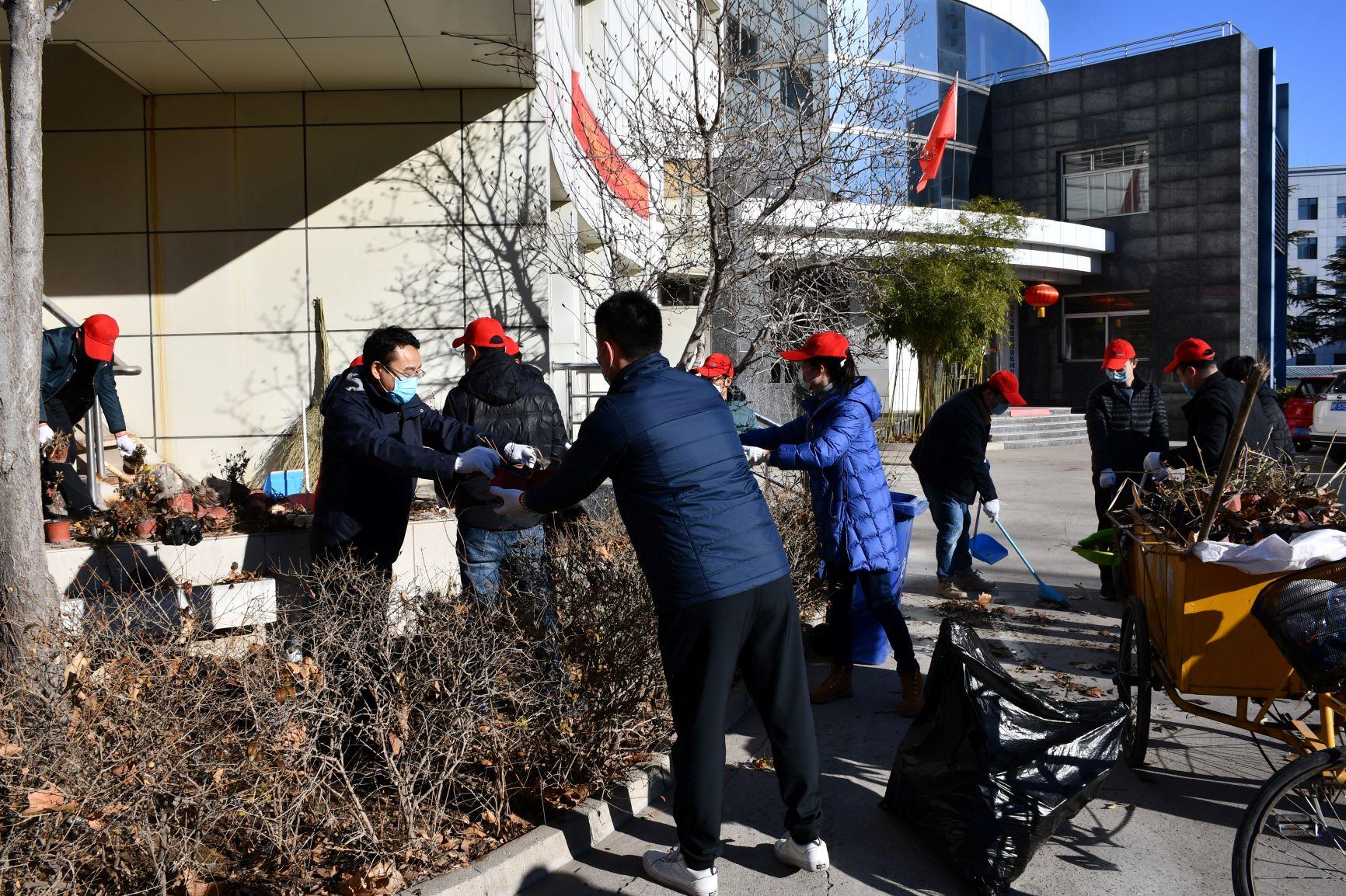 集团gongsi积极开展爱国卫生运动